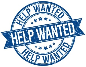 blue help wanted