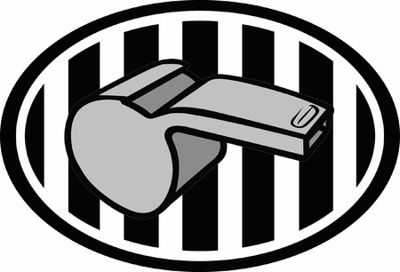 45287257 - use this referee logo design for your next project.