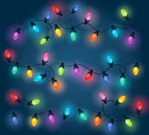 48150168 - christmas lights theme image 1 - eps10 vector illustration.