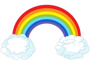 41175052 - illustration of rainbow in pastel colors