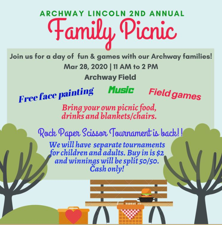 family picnic flyer